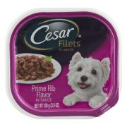 Cesar Prime Rib in Sauce Dog Food
