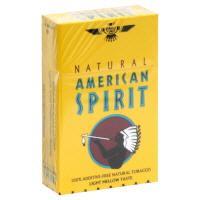 Natural American Spirit King Yellow Box Cigarettes