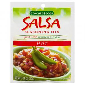 Concord Foods Hot Salsa Mix