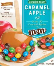 Concord Foods Caramel Apple with M&M's Kit