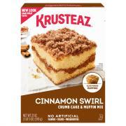 Krusteaz Cinnamon Crumb Cake Mix