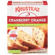 Krusteaz Cranberry Orange Quick Bread