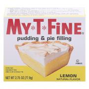 My-T-Fine Lemon Pudding