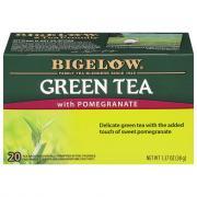 Bigelow Green Tea w/Pomegranate Tag Bags