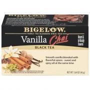 Bigelow Vanilla Chai Tea Bags