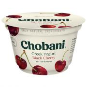 Chobani Black Cherry Nonfat Greek Yogurt