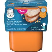 Gerber 2nd Foods Sweet Potato & Turkey
