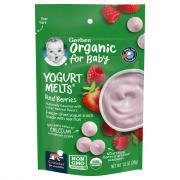 Gerber Organic Yogurt Melts Red Berries