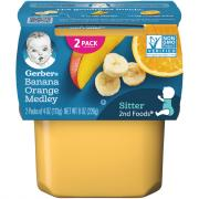 Gerber 2nd Foods Bananas & Oranges