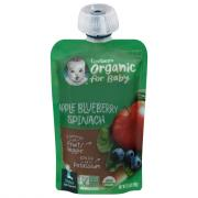 Gerber 2nd Foods Organic Apples, Blueberries & Spinach