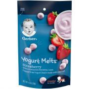 Gerber Graduates Strawberry Yogurt Melts