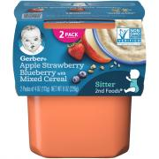Gerber 2nd Foods Apple Berry Mixed Cereal
