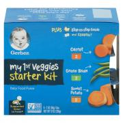 Gerber My 1st Veggies Starter Kit