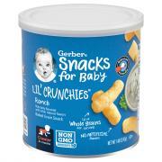 Gerber Graduates Lil' Crunchies Ranch Flavored Corn Snack