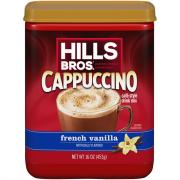 Hills Bros. French Vanilla Cappuccino Drink Mix