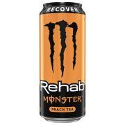 Monster Rehab Peach Tea + Energy