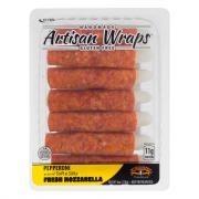 Formaggio Artisan Wraps Pepperoni Fresh Mozzarella