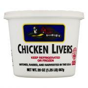 Hannaford Chicken Livers