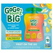 GoGo Squeeze No Sugar Added Pineapple & Mango