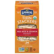 Lundberg Organic Thin Stackers Red Rice & Quinoa