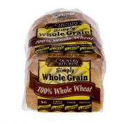 Country Kitchen All Natural Whole Grain 100% Whole Wheat