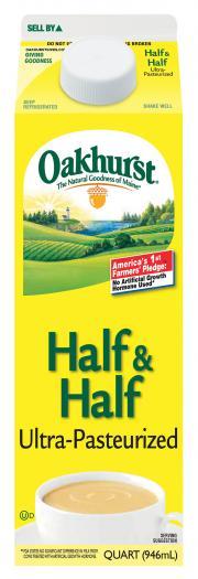 Oakhurst Half & Half Cream