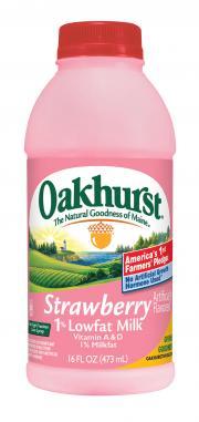 Oakhurst Fat Free Strawberry Milk