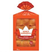 King's Hawaiian Original Hawaiian Sweet Rolls