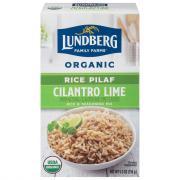 Lundberg Organic Cilantro Lime Rice Rice & Seasoning Mix