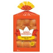 King's Hawaiian Original Hawaiian Savory Butter Rolls