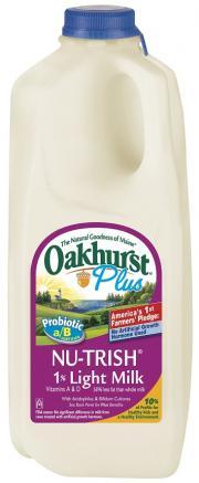Oakhurst Nu-trish 1% Milk