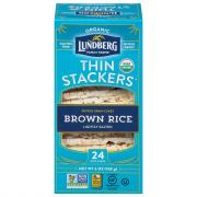 Lundberg Organic Thin Stackers Brown Rice