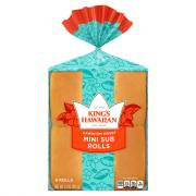 King's Hawaiian Original Mini Sub Rolls