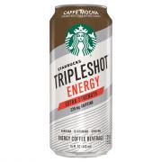 Starbucks Tripleshot Energy Caffe Mocha