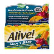 Nature's Way Alive! Men's 50+ Multi Vitamin Tablets