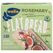 Wasa Rosemary & Sea Salt Thins Flatbread