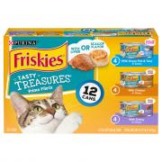 Friskies Tasty Treasures Variety with Liver & Scallop Flavor