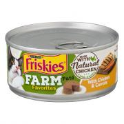 Friskies Farm Favorites Pate with Chicken & Carrots