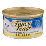 Fancy Feast Grilled Ocean Whitefish & Tuna