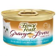 Fancy Feast Gravy Lovers Salmon & Sole Feast