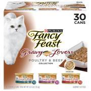 Fancy Feast Gravy Lover's Variety Pack