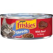 Friskies Shredded Beef Canned Cat Food