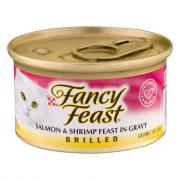 Fancy Feast Grilled Salmon & Shrimp Canned Cat Food