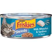 Friskies Savory Shredded Whitefish & Sardines