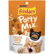 Friskies Party Mix Chicken Lovers Cat Treats
