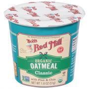 Bobs Red Mill Organic Gluten Free Oatmeal Classic