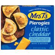 Mrs. T's Potato & Cheddar Pierogies
