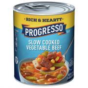 Progresso Hearty Vegetable Beef Soup