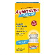 Aspercreme with Lidocaine Odor Free No Mess Applicator