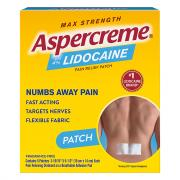 Aspercreme Lidocaine Patch